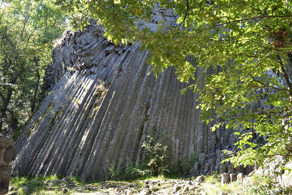Kamenný vodopád Šomoška