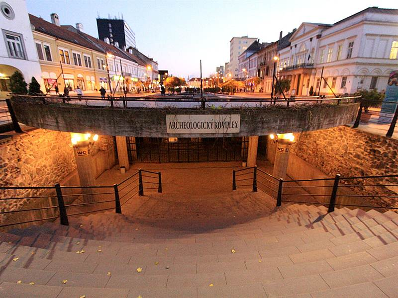 Podzemné archeologické múzeum Dolná brána Košice