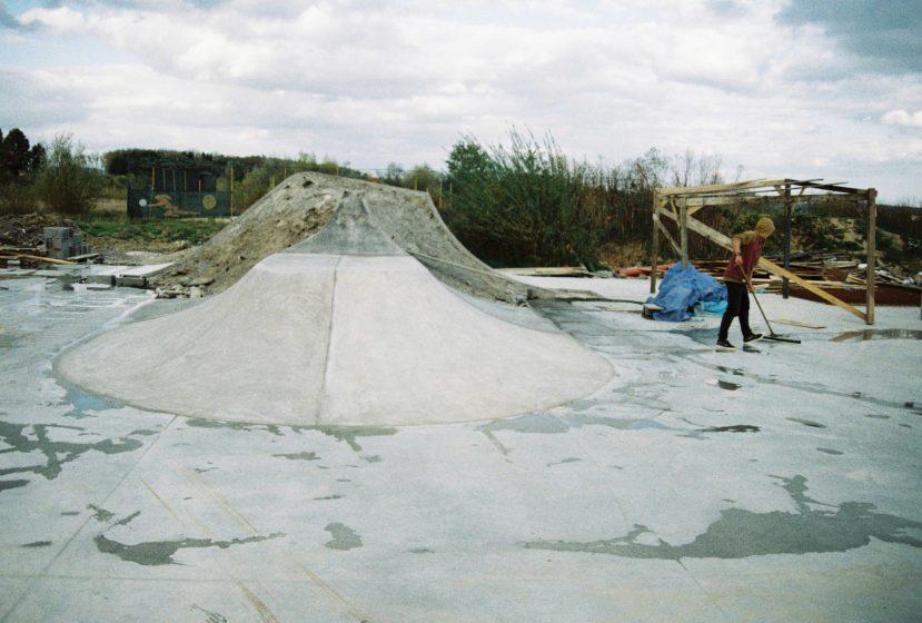 Úprava skate parku