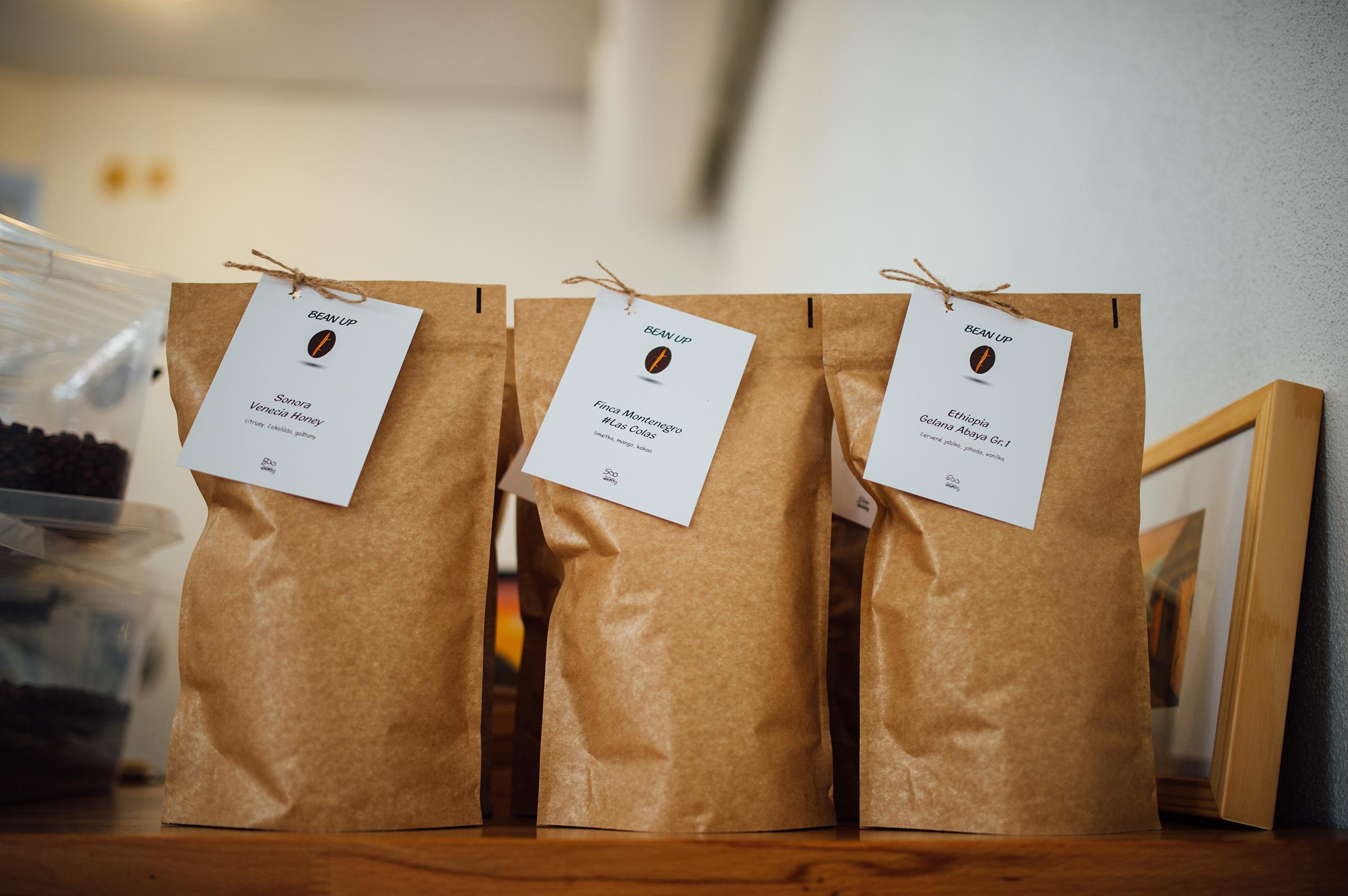 Balíčky káv