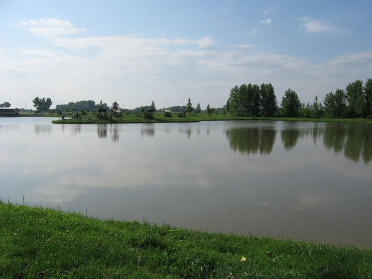 Jazero Nitriansky Hrádok