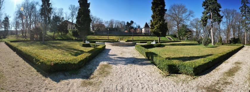 Zámocká záhrada, Hlohovec