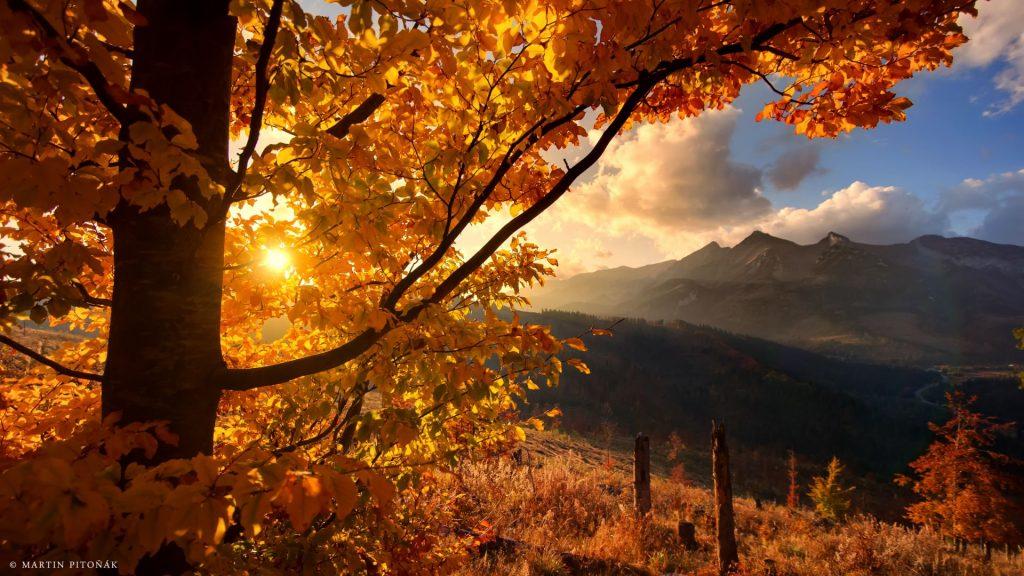 Východ slnka Belianske Tatry