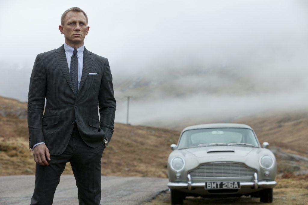 Skyfall Aston Martin