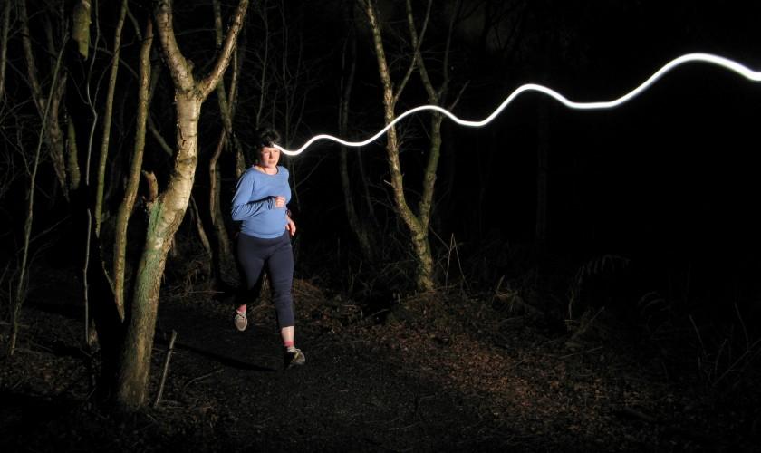 Night Run - headlamp