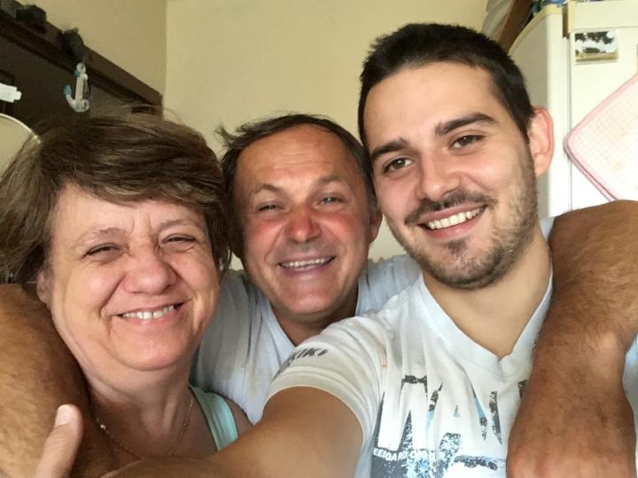 syn s rodičmi