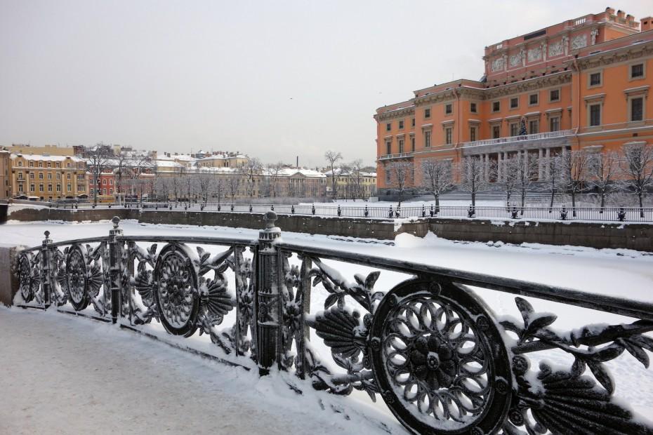 zimné mesto