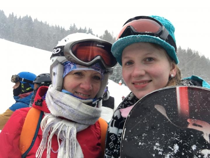 dcéra s mamou, hory