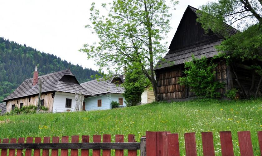 tradičné drevenice