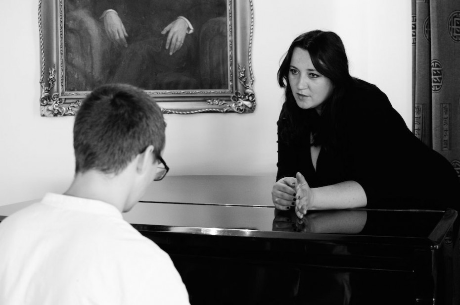 Kararína Koščová a klavirista