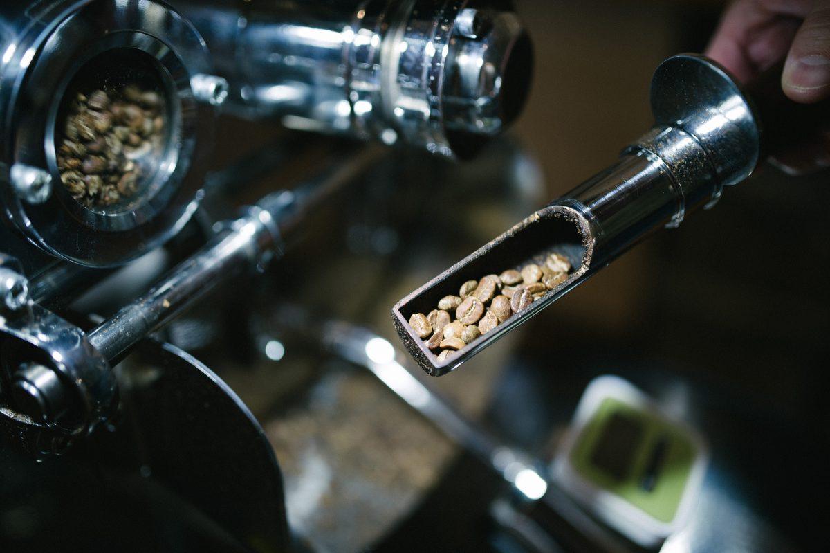 Káva vtryeri