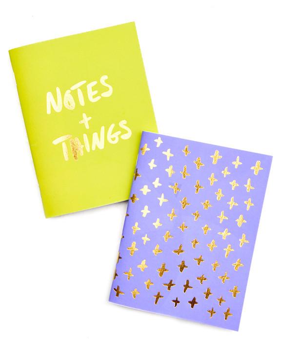 dizajnové zápisníky