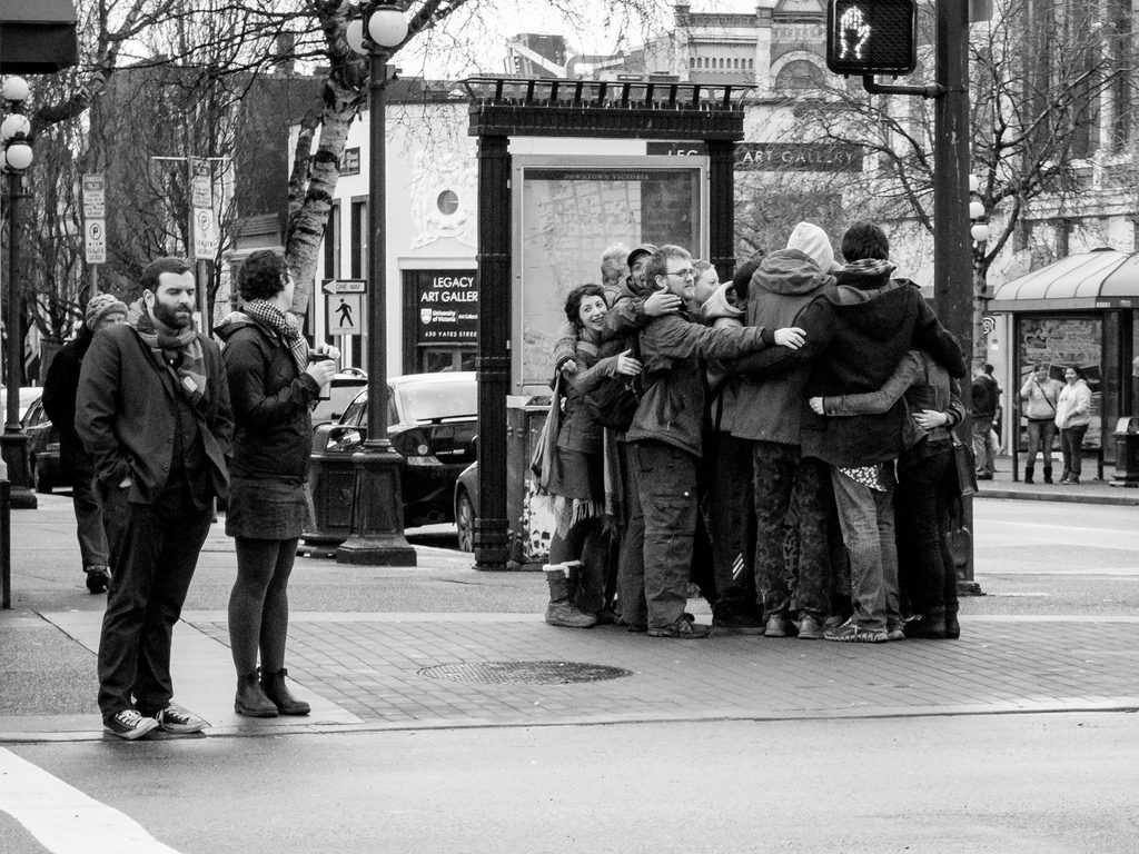 Group Hug by Joris Louwes