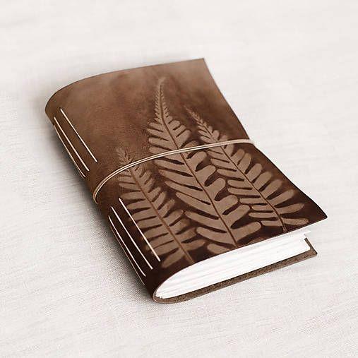 Canisa kožené zápisníky