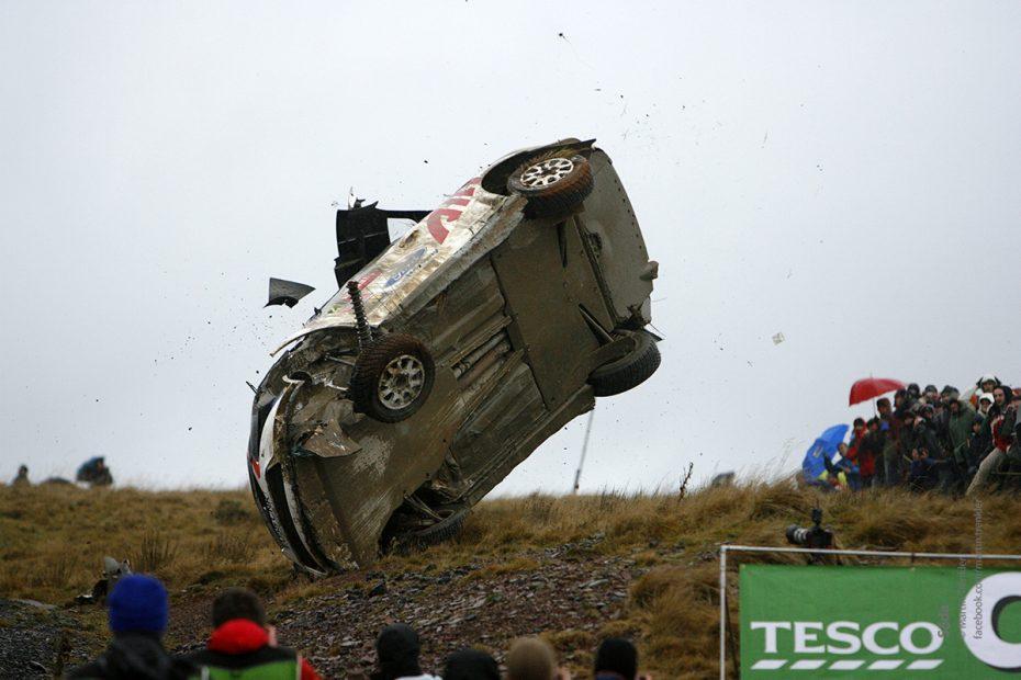 WRC nehoda