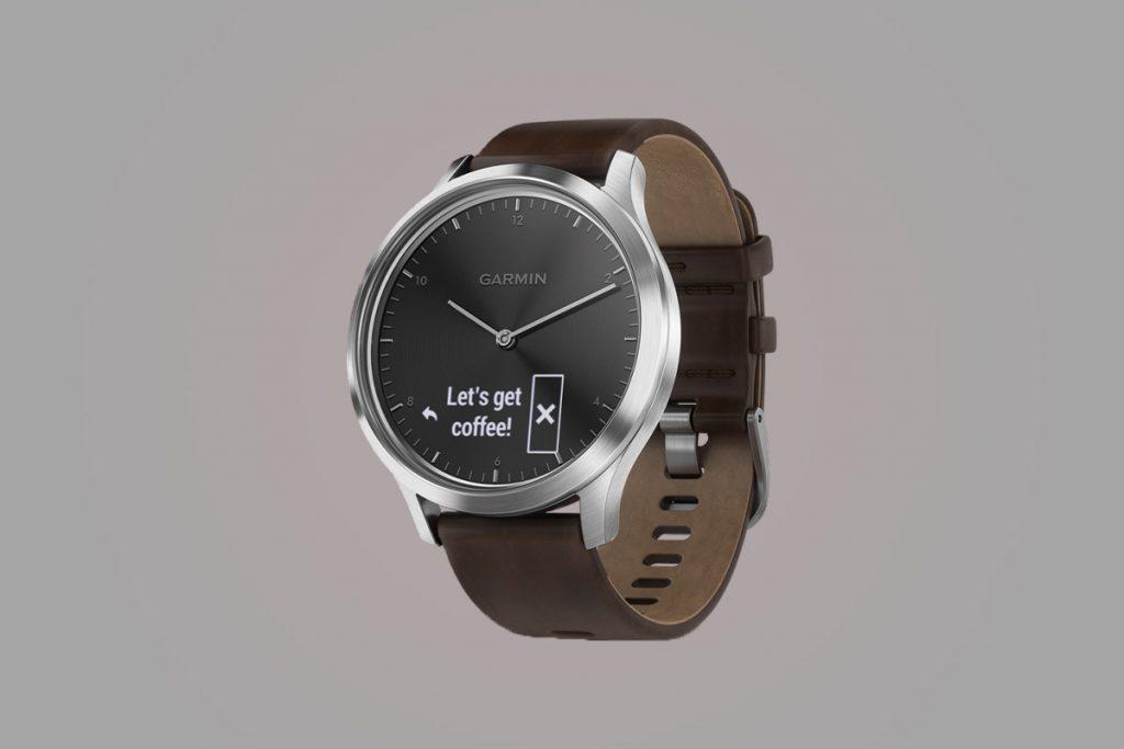 41c330915 Hybridné inteligentné hodinky s klasickým displejom a analógovým ciferníkom  Garmin Vivomove HR predstavujú samostatnú kategóriu.