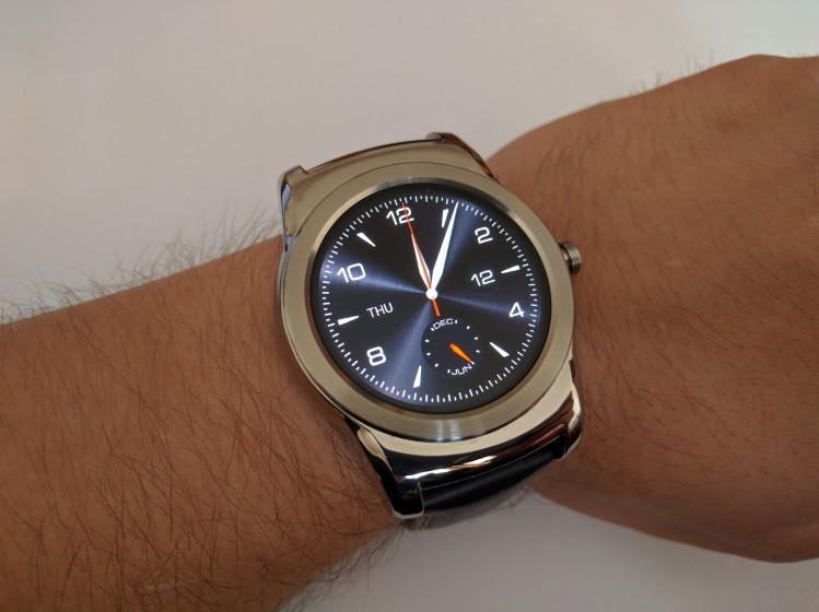 LG Urbane watch