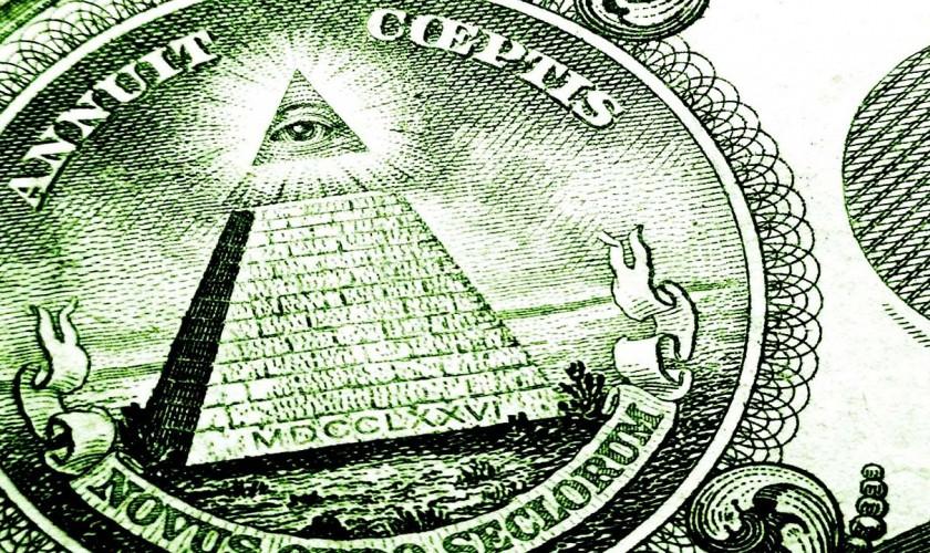 symbol pyramídy na americkej bankovke