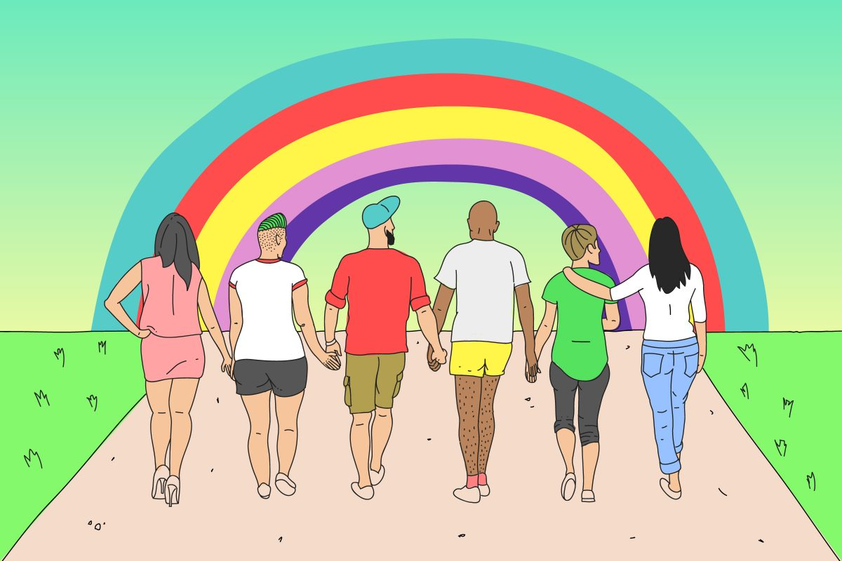 Len veľký péro Gay
