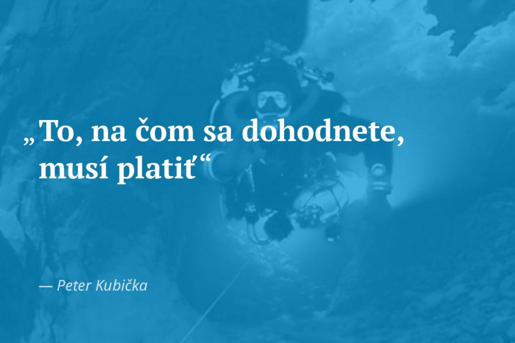 citát Fér videá Kubička