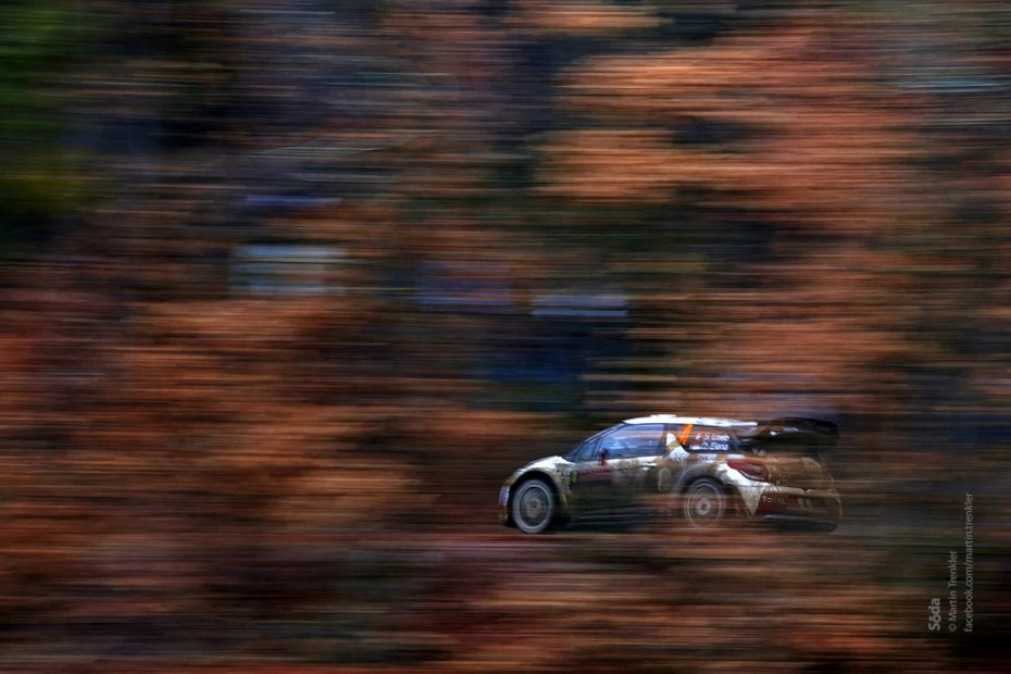 Sebastian Loeb & Daniel Elena Citroen DS 3 WRC