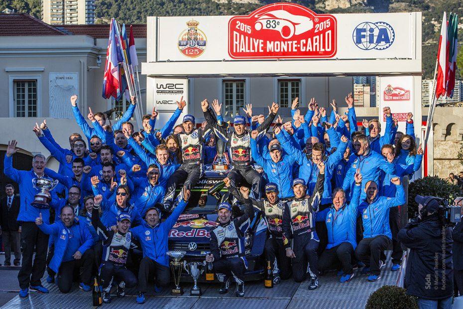 Volkswagen WRC team, Rallye Monte Carlo