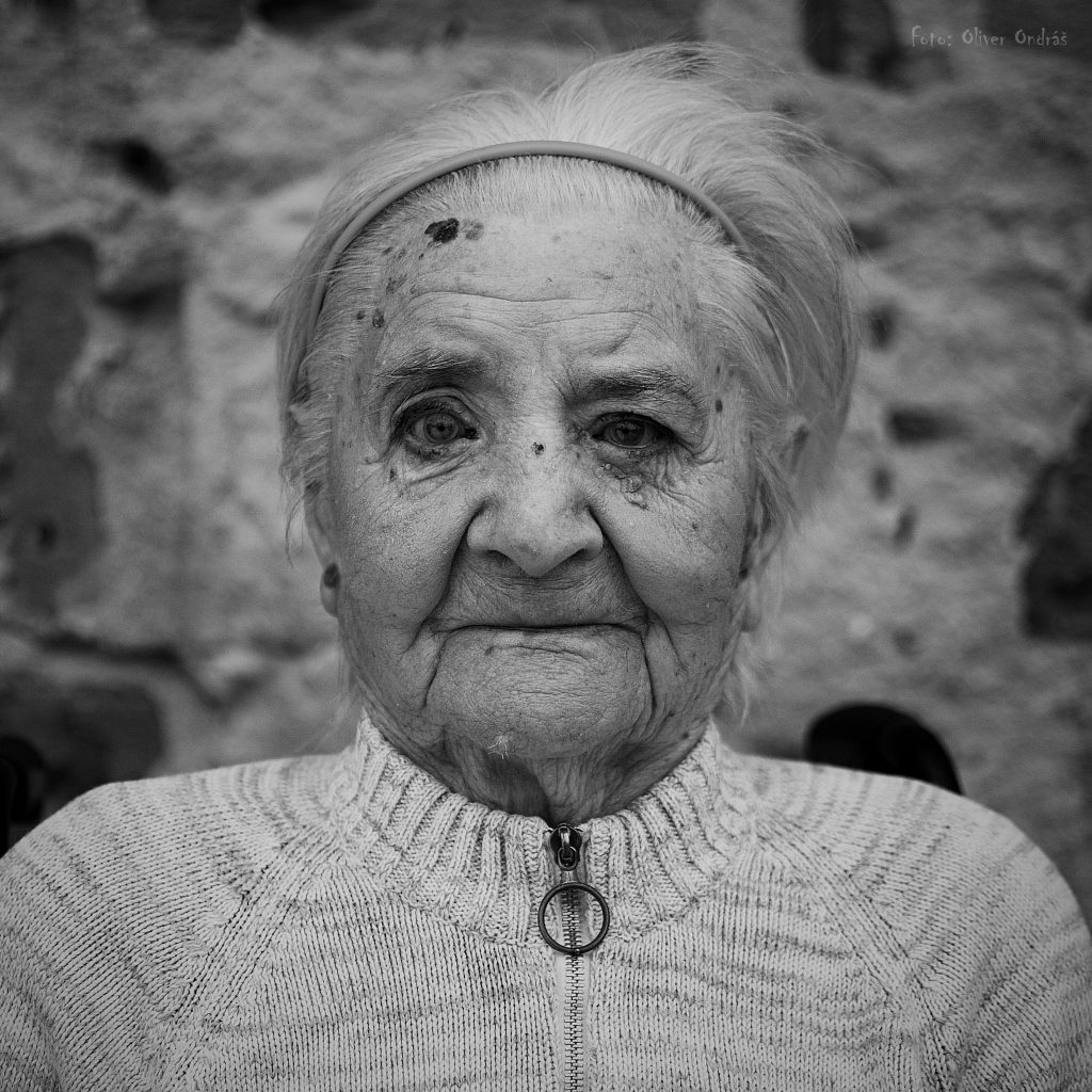 Storočná pani Mária je najstaršou portrétovanou osobou vprojekte