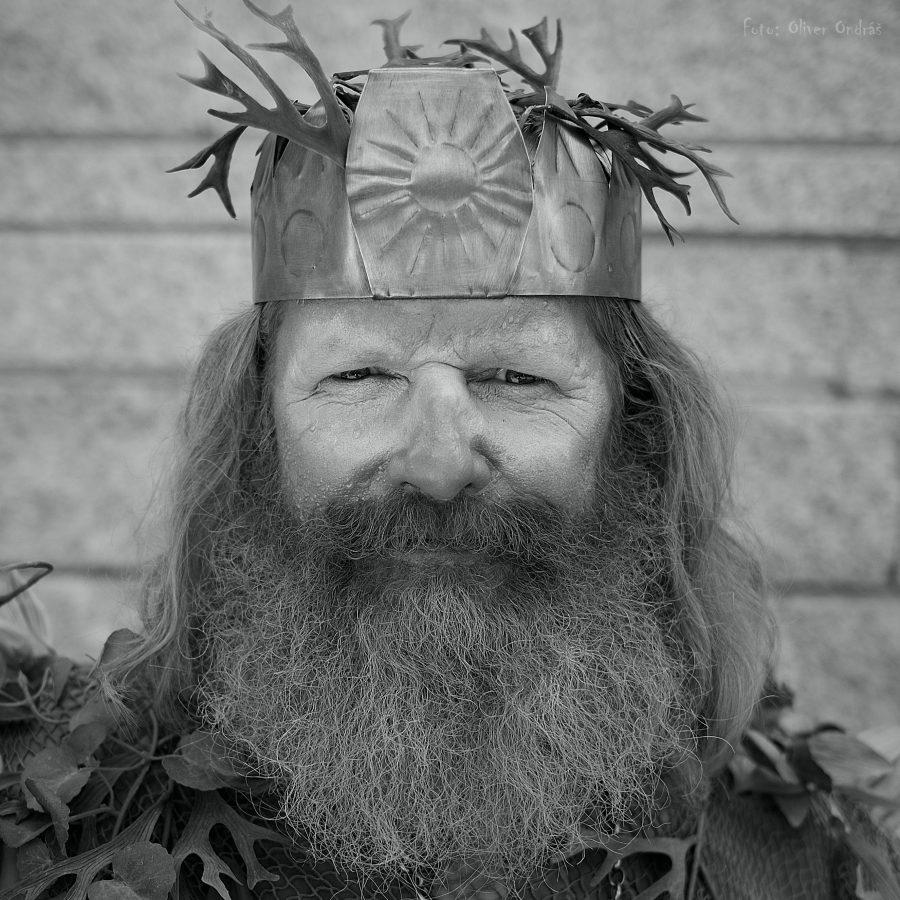 Najúspešnejším portrétom na sociálnej sieti bol portrét Poseidona, ktorého stvárnil slávny mím Miro Kasprzyk.