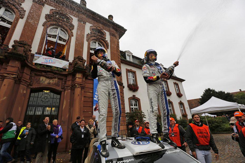 Volkswagen WRC team
