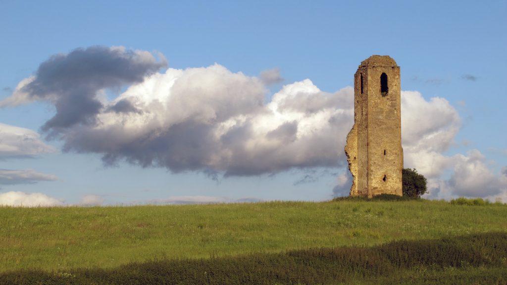Ruina Kostola sv.Stanislava vMiloji
