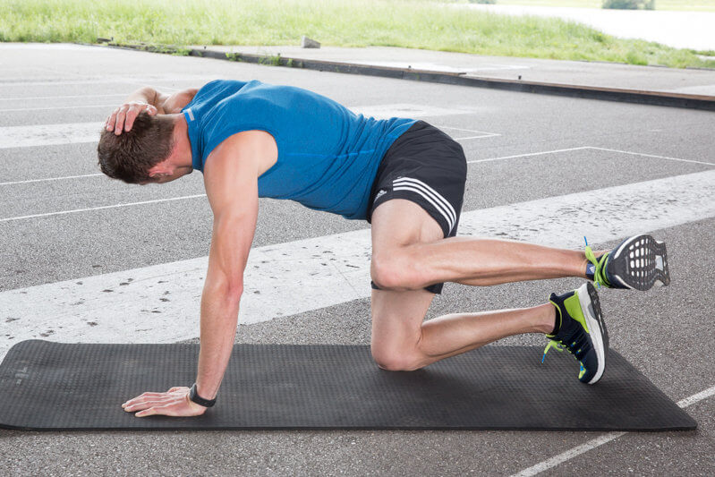 bežecké cviky