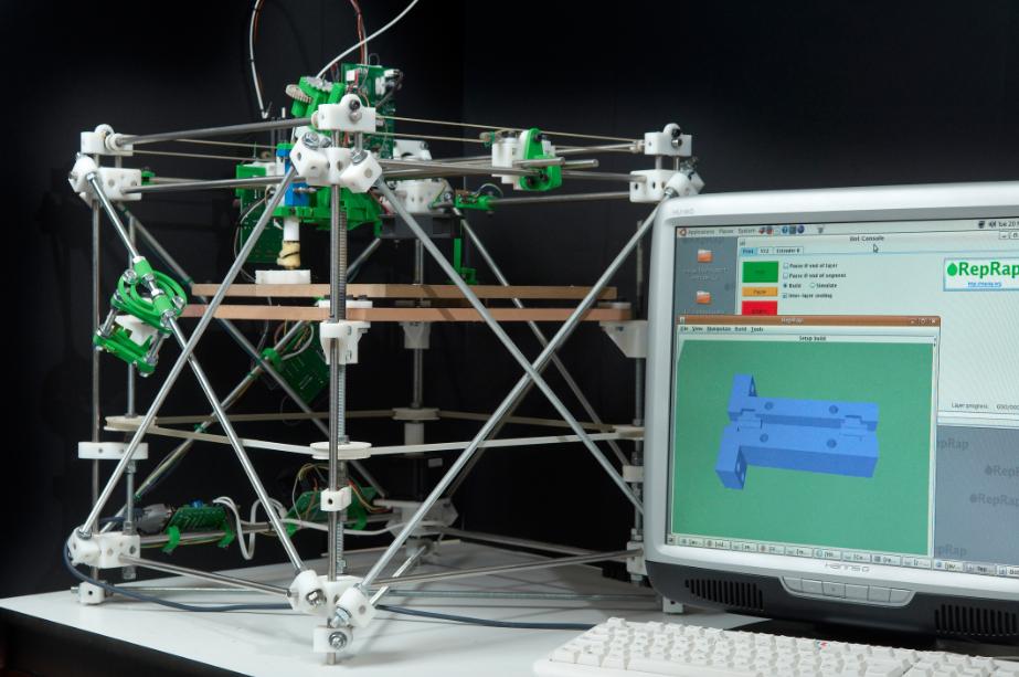 3D tlačiareň model