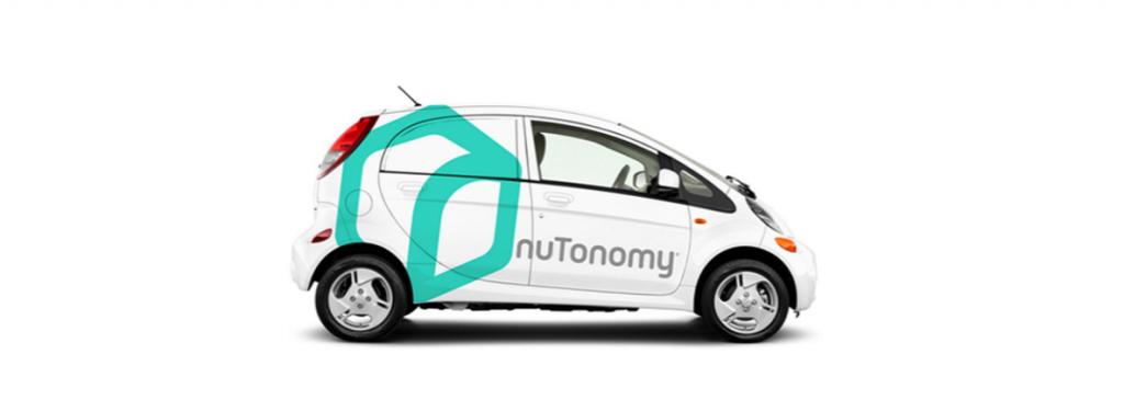 nuTonomy taxi