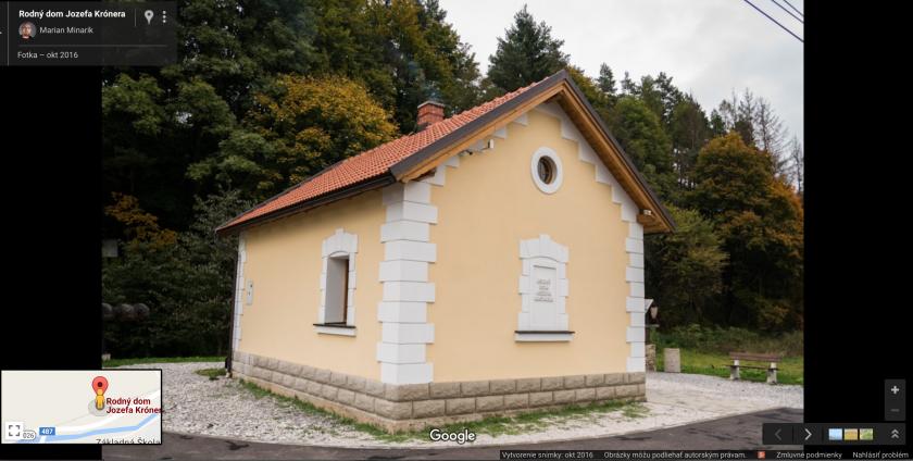 Rodny dom Jozefa Kronera