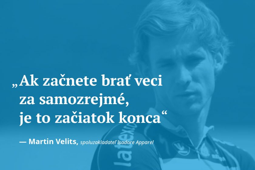 Martin Velits Isadore Apparel