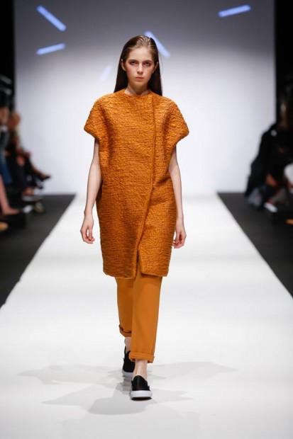 Oranžový dámsky komplet Buffet Clothing