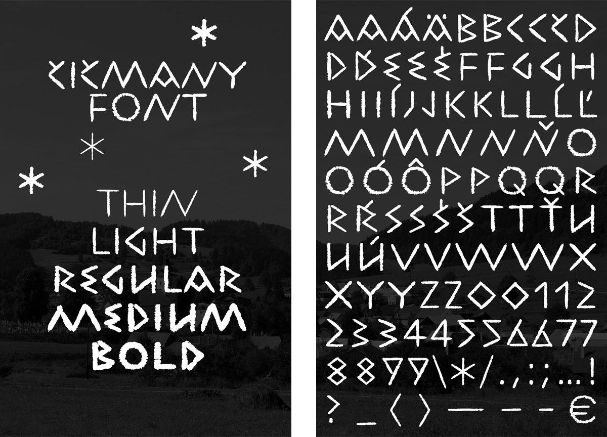 cicmianky font