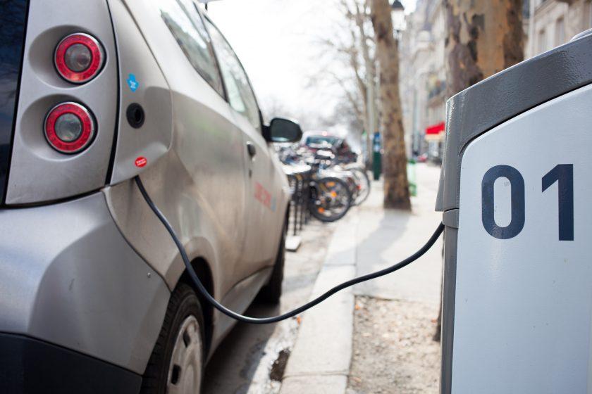 Nabíjanie elektrického auta