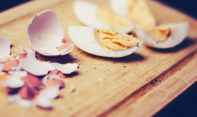 vajíčka a škrupiny