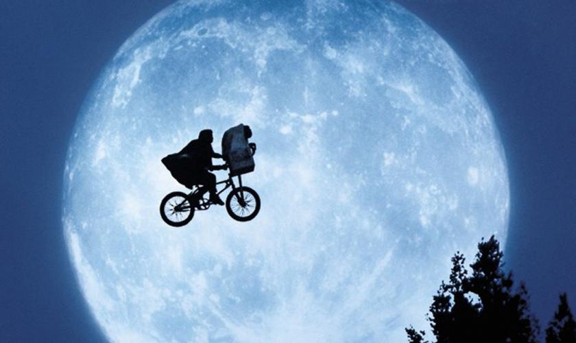 scéna z filmu ET mimožemšťan