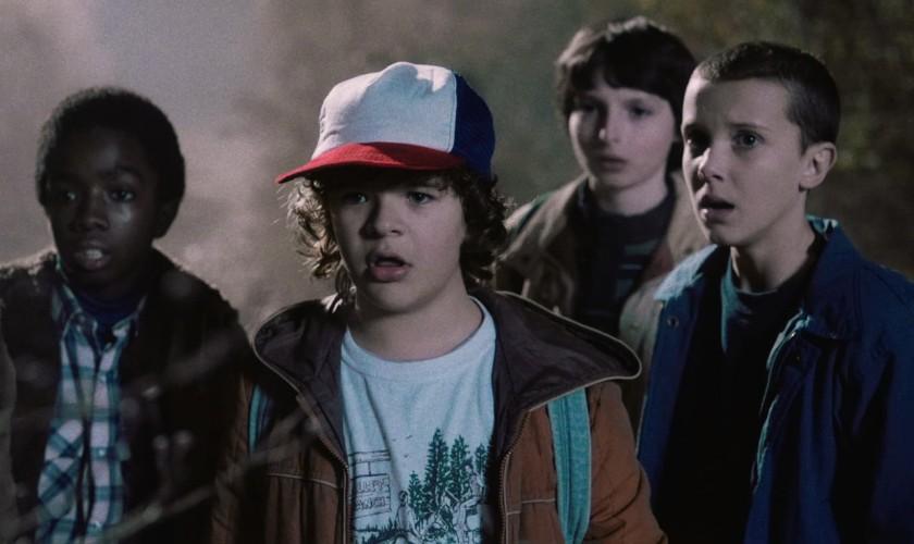 snímka zo seriálu Stranger Things