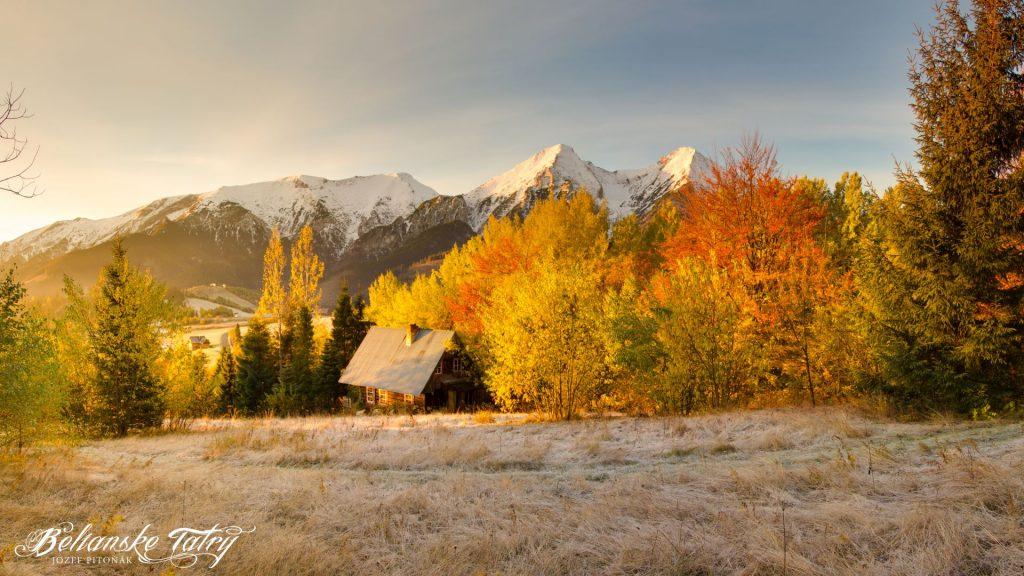 Belianske Tatry jesenna namraza