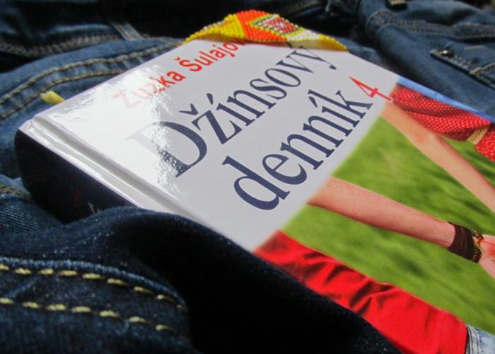 kniha Džínsový denník od Zuzky Šulajovej