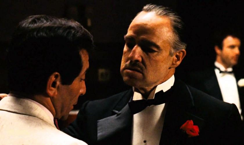 scéna z filmu Krstný otec