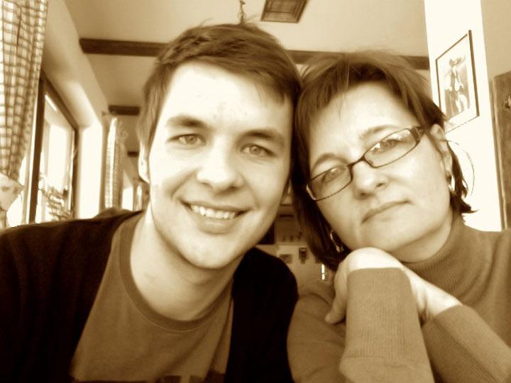 muž s mamou