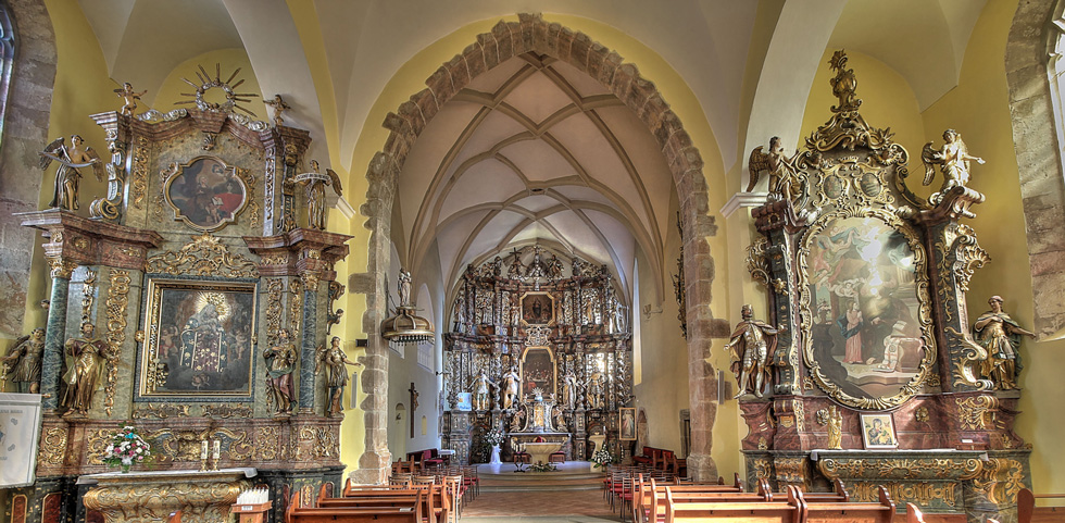 Oltár rímskokatolického kostola