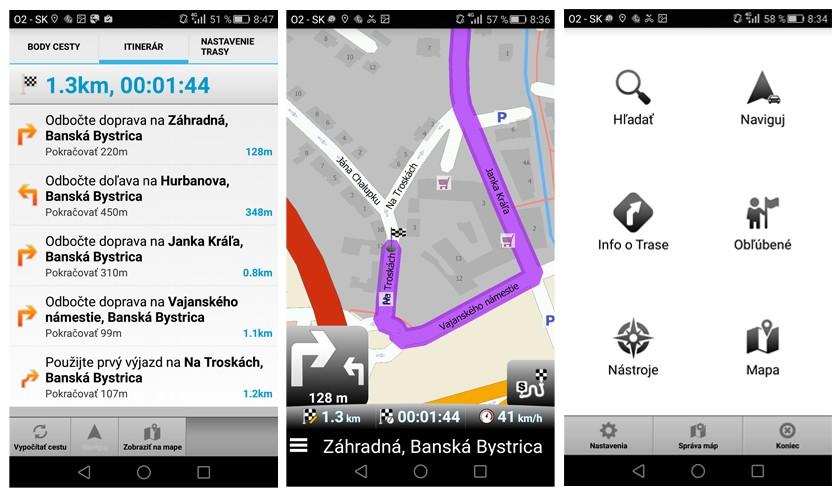 Map Factor navigácie